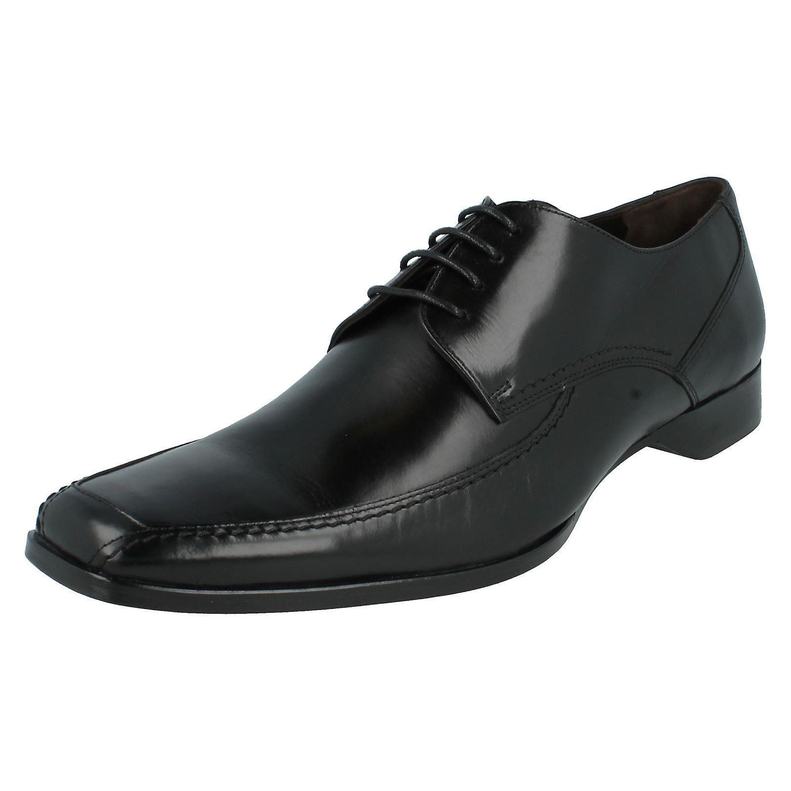 Mens Loake Leather Leather Leather Formal Shoes 1369B - Black Leather - UK Size 9.5F - EU Size 44 - US Size 10 05111c