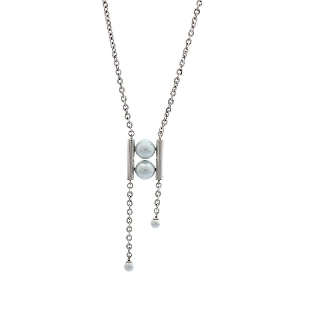 Misaki ladies necklace stainless steel MARINE QCRPMARINE