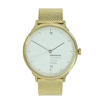 Mondaine ladies watch Helvetica No1 LIGHT Holiday Edition MH1. L2211. SM