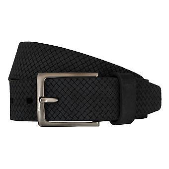 LLOYD hombres cinturones cinturones cuero completo cuero gris cinturones hombre 5849