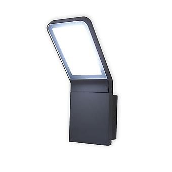 LED Wall lamp outdoor of Villads dark grey 6500 K 10644