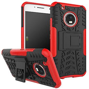 Hybrid case 2 piece SWL outdoor red for Lenovo Moto G5 plus bag case cover protection