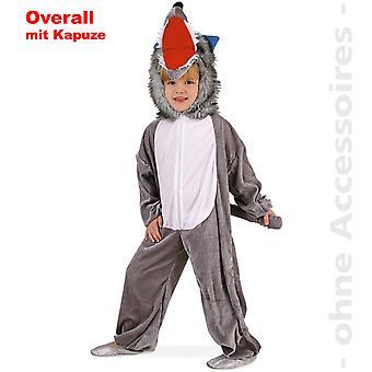 Wolf costume, Wolf jumpsuit jumpsuit kids beast dog child costume