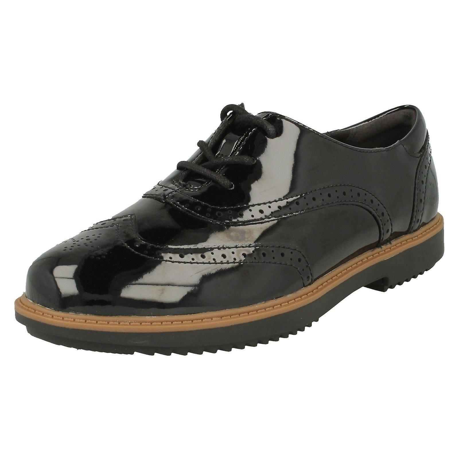 Ladies Clarks STRINGATE Brogue stile scarpe Raisie Hilde | Sale Italia  | Scolaro/Ragazze Scarpa