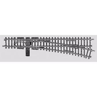 H0 Märklin K (w/o track bed) 22716 Points, Right 225 mm 14.43 ° 902.4 mm