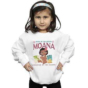 Disney Girls Moana Born In The Ocean Sweatshirt