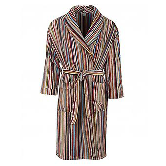 Paul Smith Multi Striped Towelling Dressing Gown
