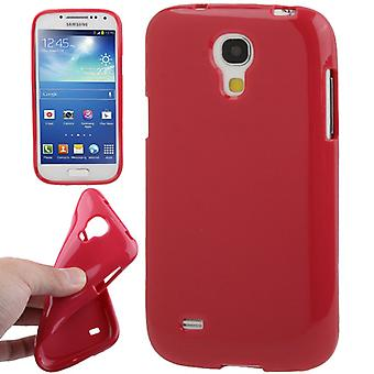 Protective case TPU case for mobile Samsung Galaxy S4 mini i9190 Red