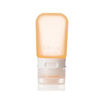 HumanGear GoToob Travel Tube Orange (Size Small 1.25Floz/37ML)