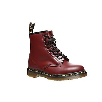Dr. Martens 1460 cherry red leather boots Red