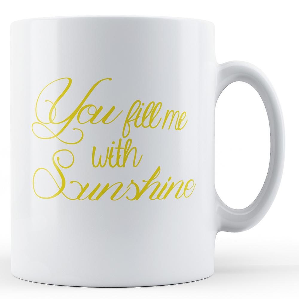 Vous Écriture Que Décorative Me Renseigner Avec SunshineImprimé Mug uJTlcK1F3
