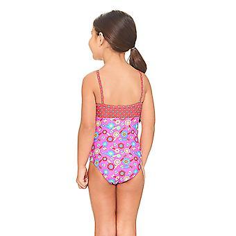 Mittelerweile Flora klassischen Back Badeanzug Pink/Multi