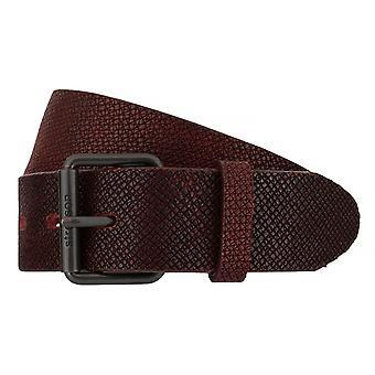 Ceintures pour hommes de Strellson ceintures cuir ceinture Bordeaux 7538