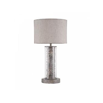 Maytoni Lighting Maryland Elegant Table Lamp, Grey