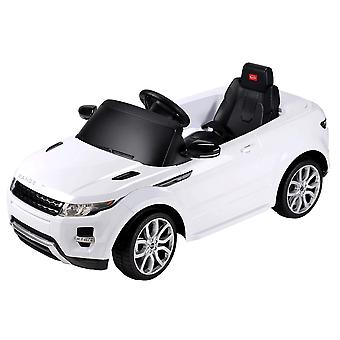 Range Rover Evoque 12V Licensed Children's Kids Ride On Electric Remote Toy Car - White