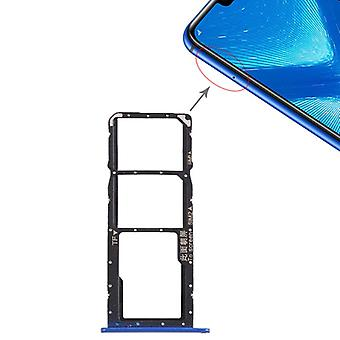 Replacement SIM card holder adapter SIM tray for Huawei honor 8 X repair blue new