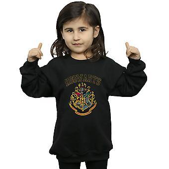 Harry Potter Girls Varsity Style Crest Sweatshirt
