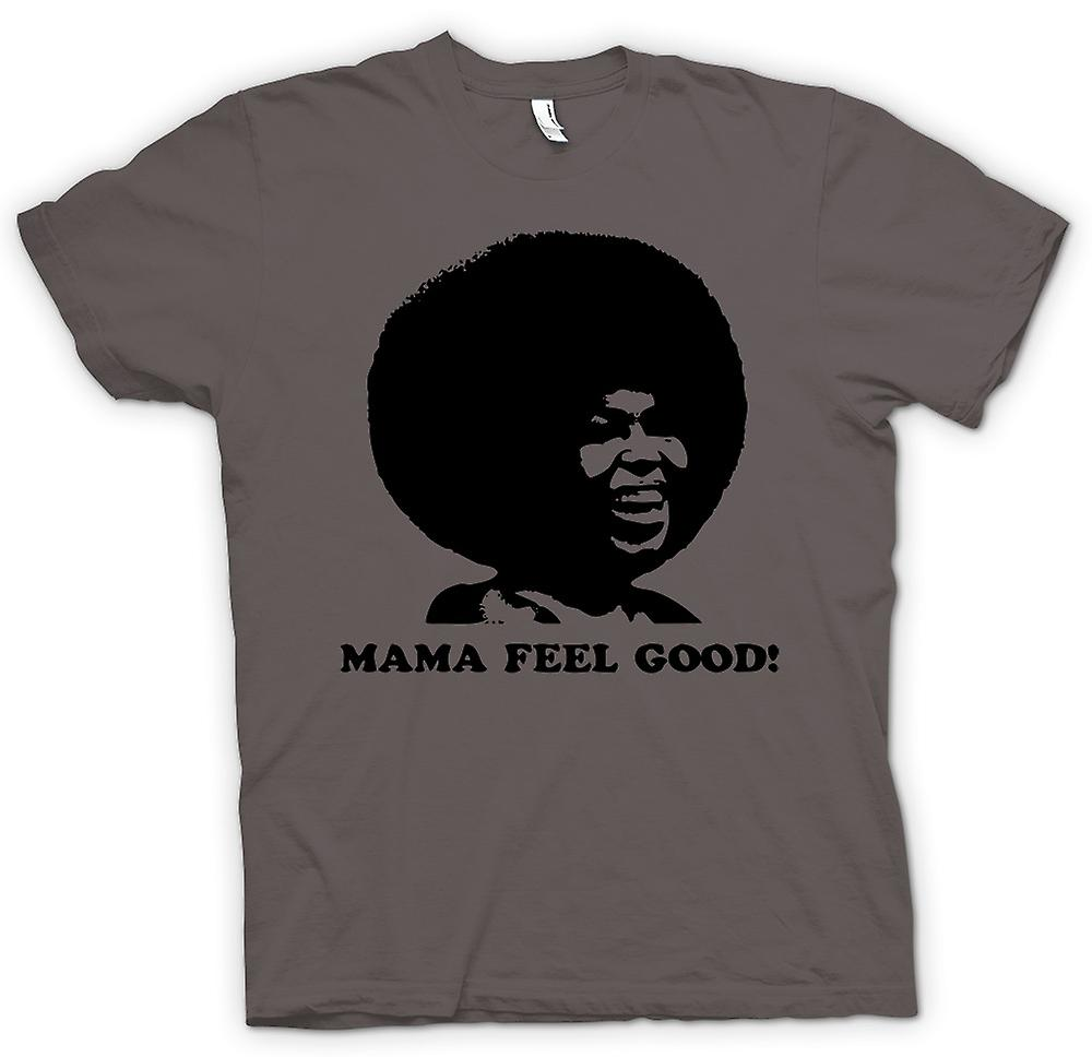 Femmes T-shirt - Mama Feel Good - 70 - Soul Afro