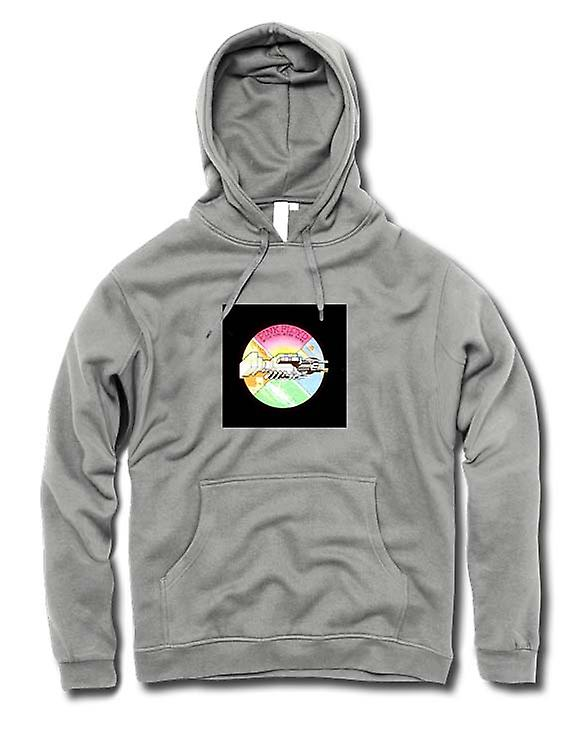 Mens Hoodie - Pink Floyd - Wish You Were - Here