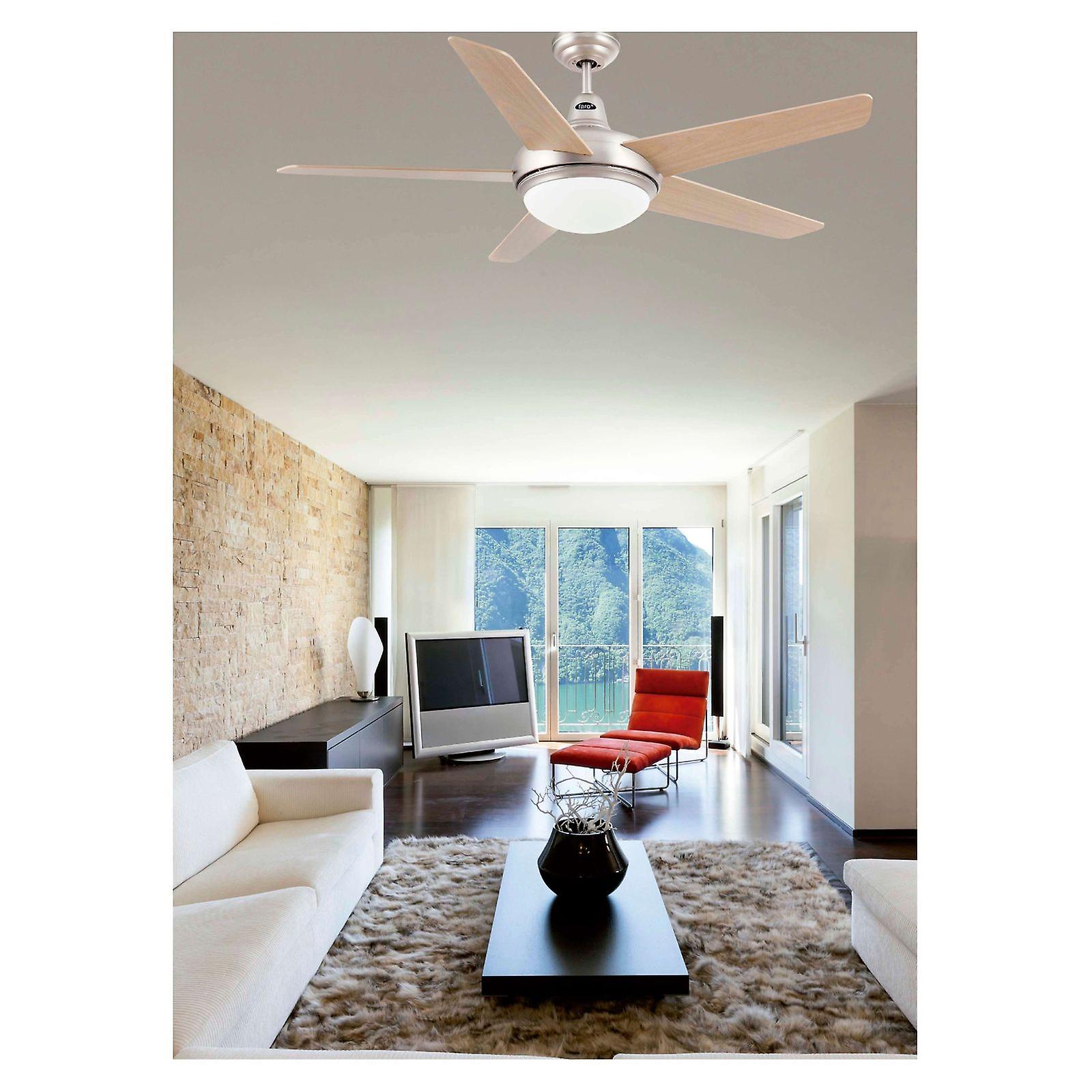 Ceiling fan Ovni Nickel 132cm / 52