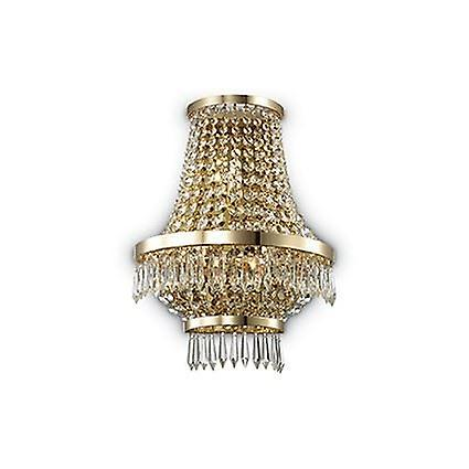 Ideal Lux - Caesar or Finish Wall Light With Crystals IDL137704