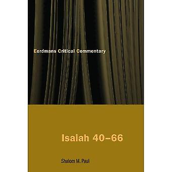 Jesaja 40-66: een commentaar