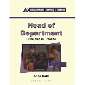 Head of Department by Gold & Anne