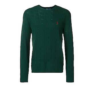 Ralph Lauren Green Wool Sweater