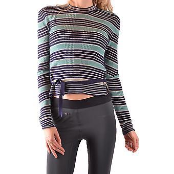 Fendi Green Silk Sweater