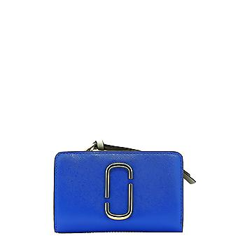 Marc Jacobs Blue Leather Wallet