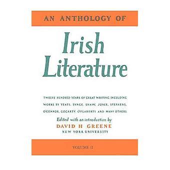 Irlantilainen kirjallisuus Vol. 2 Greene & Richard antologia
