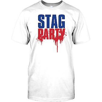 Stag Party - coole Hirsch tun Kinder T Shirt