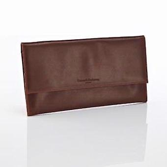 Daines and Hathaway Rusty Blaze Leather Travel Wallet