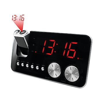 AM/FM clock radio with projection.