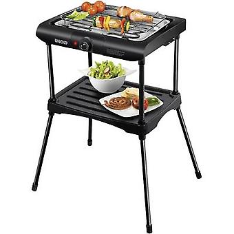 Unold 58550 Electric Free-standing barbecue with base, with manual temperature settings Black