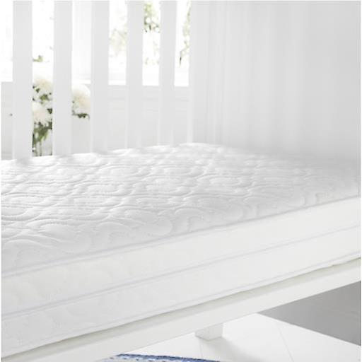 Breathable Cotbed Depth Foam X allergenic Quilted MattressSize70cm Anti 140cm10cm 8mnvN0OywP