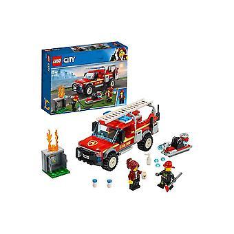 LEGO City 60231 Stadtfeuerwehrchef reagiert auf Truck