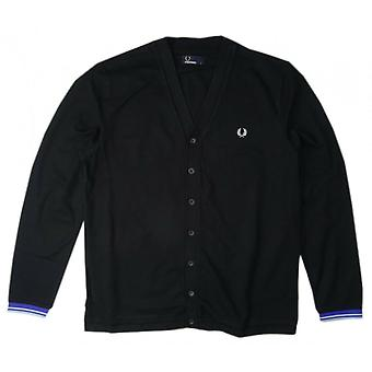 Fred Perry Men's Pique Cardigan M4398-220