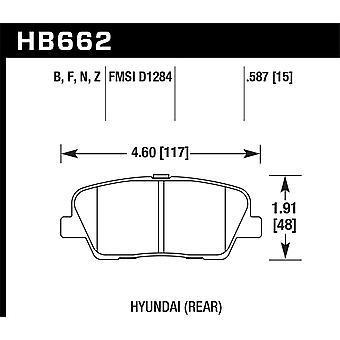 Hawk Performance HB662Z.587 PC