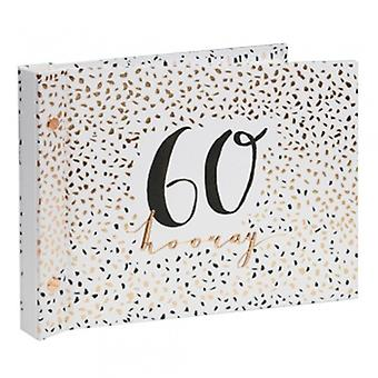 Luxe Ladies 60th Birthday Photo Album Guest Book - Gifts Handpicked