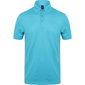 Henbury - Mens Stretch Polo Shirt With Wicking Finish