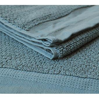 4 pieces Towels in teal