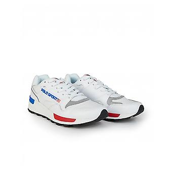 Polo Ralph Lauren Trackstar Polo Sport Leather Trainers