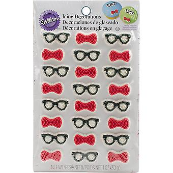 Royal Icing Dekorationen-Geek-W2084