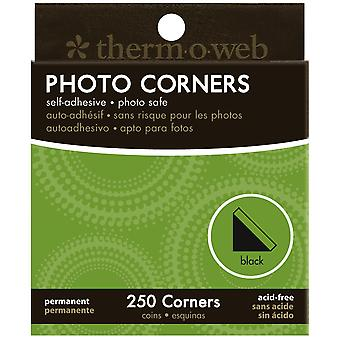 Photo Corners Boxed 250 Pkg Black Pc250 3867
