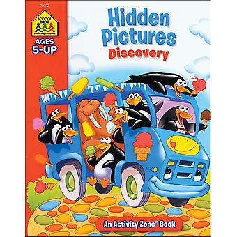 Activity Workbooks 32 Pages Hidden Pictures Discovery Ages 5+ Szact 02192