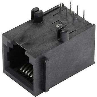 N/A Socket, horizontal mount SS64600-015F Black