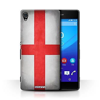 STUFF4 Case/Cover voor Sony Xperia Z4v/E6508/Engeland/Engels/vlaggen