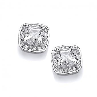 Cavendish French Regal Cubic Zirconia Earrings