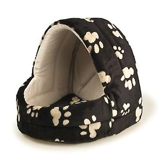 Arquivet 35cm Black Footprints Chapel. (Dogs , Bedding , Igloos)